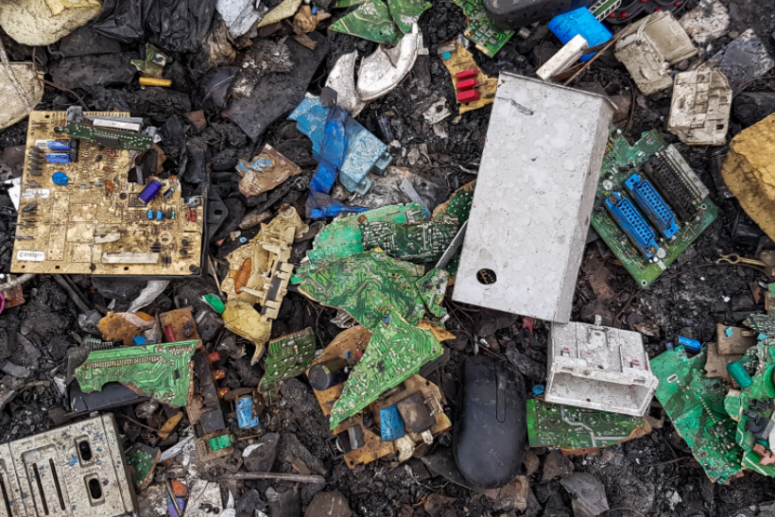 History of The Electronic Waste Recycling Industry