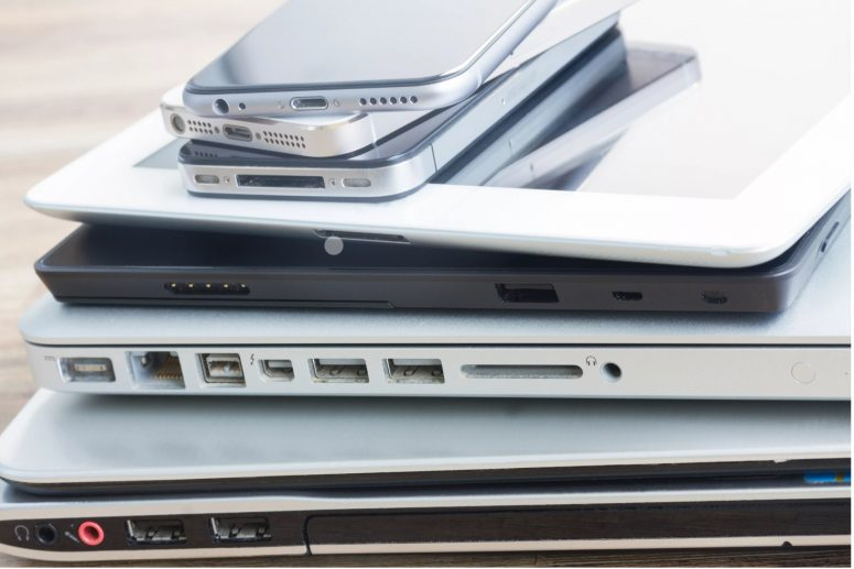 three steps to help you properly dispose of electronics.