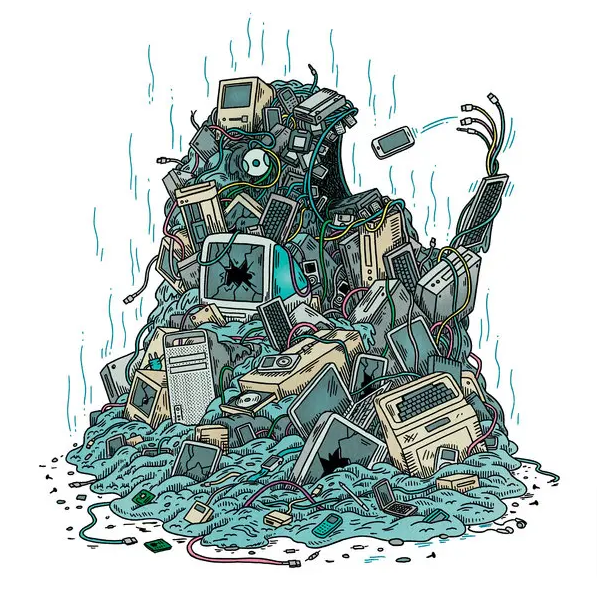 What Happens To Your Old Electronics after Dumping and Recycling