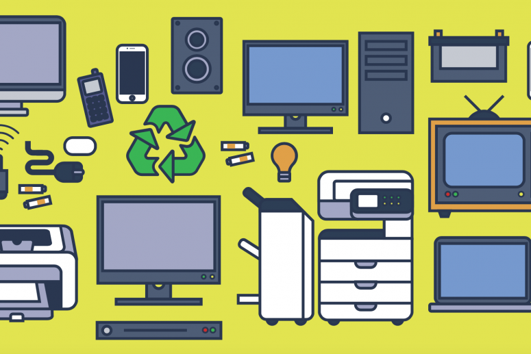 How to Recycle Electronics in Orlando